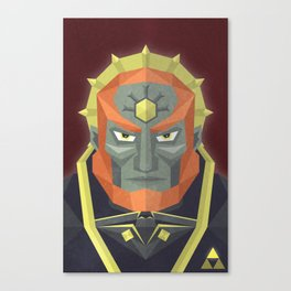 The King of Darkness Canvas Print