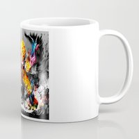 goku Mugs featuring Goku by ururuty