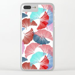 Gingko leaves. Botanical pattern. Clear iPhone Case