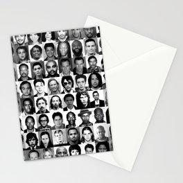 Celebrity Mugshots Stationery Cards