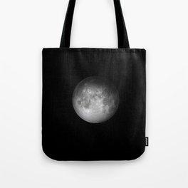 Full Moon Detail Tote Bag