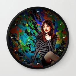 Dakota Johnson - Celebrity Art Wall Clock