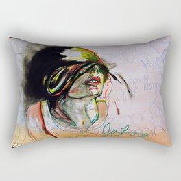 Vicious Heartache  Rectangular Pillow
