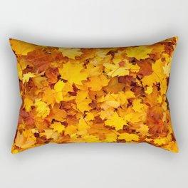 Autumn Leaves - Pattern Rectangular Pillow