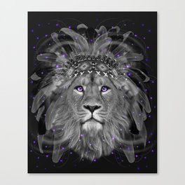 Don't Define Your World (Chief of Dreams: Lion) Tribe Series Canvas Print
