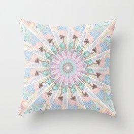 Titleless Mandala Throw Pillow
