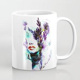 ABSTRACT WOMEN FACE Coffee Mug
