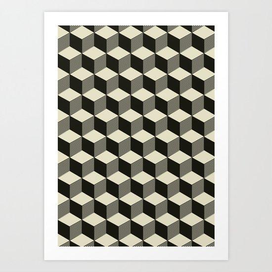 Metatron Cubes 02 Art Print