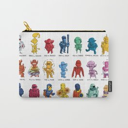 ROM and his Spaceknights in Adorable Collectible Minisize Carry-All Pouch