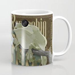 Frog & Coffee by Paulo Coruja Coffee Mug