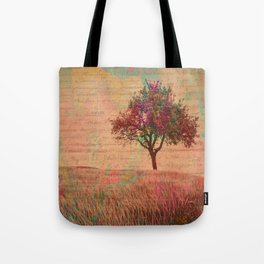 The Kissing Tree, Landscape Art Tote Bag