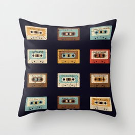 Death of the 8 bit Throw Pillow