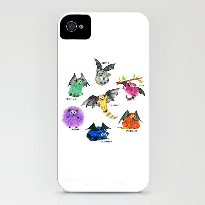 seven books, seven iggys iphone case