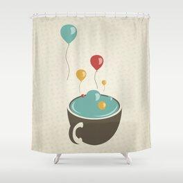 Feliz Desaniversário! (Happy Unbirthday) Shower Curtain