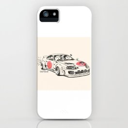 Crazy Car Art 0178 iPhone Case