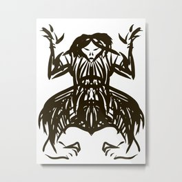 Shamanic travel (shaman walk) Metal Print