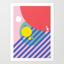 Rainy Summer Daze Art Print