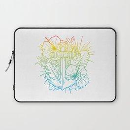 Sunrise Hawaiian Anchor Laptop Sleeve