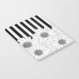 Daisy Stripe Notebook