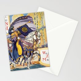 Vintage Women's Suffrage Poster, 1913 Stationery Cards