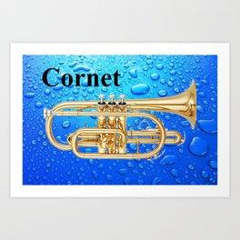 Bubblicious Cornet Art Print