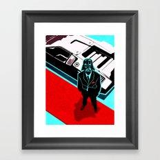 Darth Lambo Framed Art Print