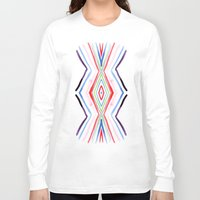 aqua Long Sleeve T-shirts featuring Aqua by FakeFred