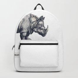Retro Rhinoceros Backpack