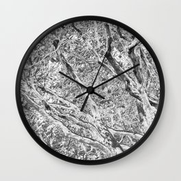 TWISTING BRANCHES Wall Clock