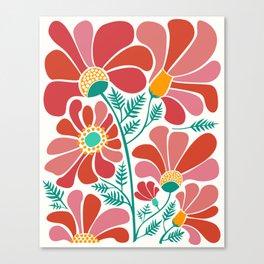 The Happiest Flowers III Canvas Print