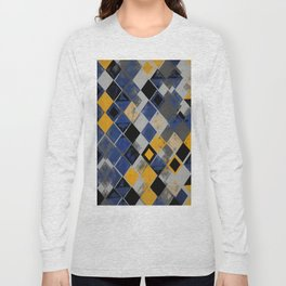 Abstract Composition 390 Long Sleeve T-shirt