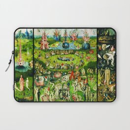 The Garden of Earthly Delights Triptych by Hieronymus Bosch Laptop Sleeve