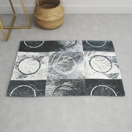 Nature And Geometry Rug