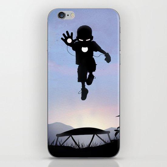 Iron Kid iPhone & iPod Skin