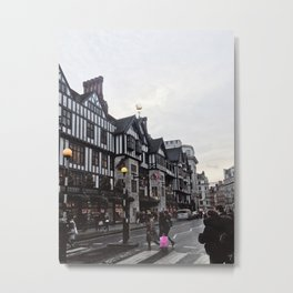 Of Course It's Raining in London Metal Print