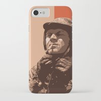 steve mcqueen iPhone & iPod Cases featuring S McQueen by Rich Lee