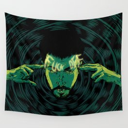 Mind-control powers in good use Wall Tapestry