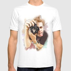 The SoulSnatcher White MEDIUM Mens Fitted Tee