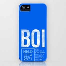 BOI iPhone Case