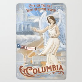 Columbia - City on the Hill Cutting Board