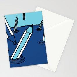 Pencils Dream Stationery Cards