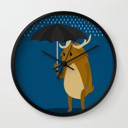 Rain-Deer Wall Clock