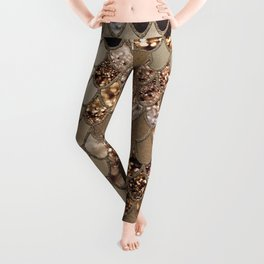 Mermaid Glitter Scales #6 #shiny #decor #art #society6 Leggings