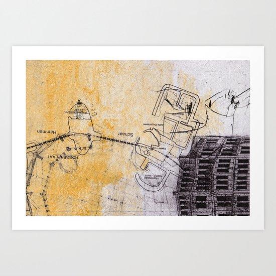 overflow #5 Art Print