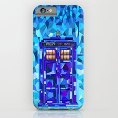 Phone booth Tardis doctor who cubic art iPhone 4 4s 5 5c 6, pillow case, mugs and tshirt iPhone 6s Slim Case