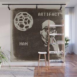 Bucky and his Ball Wall Mural