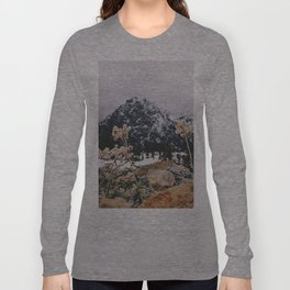 Mountains + Flowers Long Sleeve T-shirt