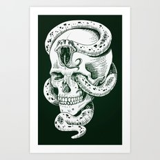 Dark Mark Art Print