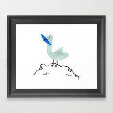 Gavina Seagull Framed Art Print