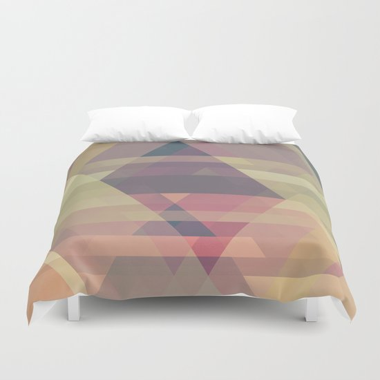 The Clearest Line II Duvet Cover